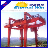 high-quality double girder travelling gantry crane
