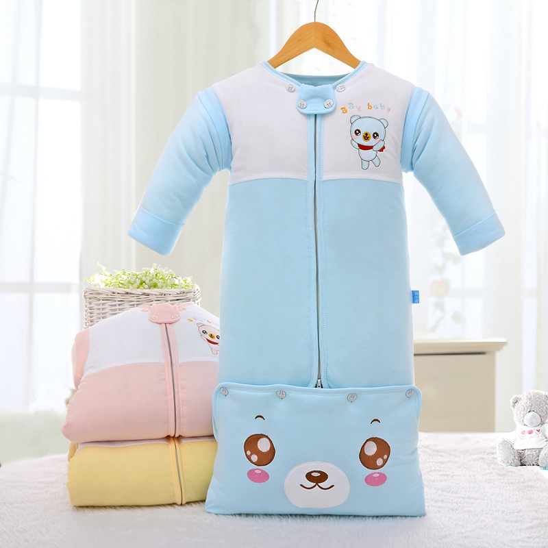 wholesale high quality 100% Cotton baby sleeping bag / baby sleeping sack