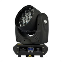 19PCS 12W LED Beam Wash Moving Head Light with Zoom