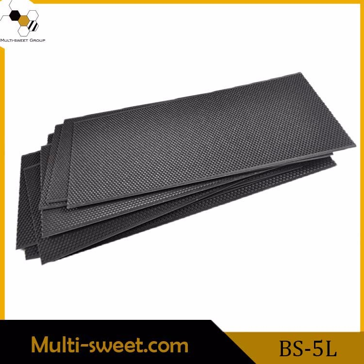 Bee hive frame plastic sheet comb foundation/ beeswax sheet comb foundation