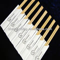paper wrapped disposable reusable bamboo chopsticks