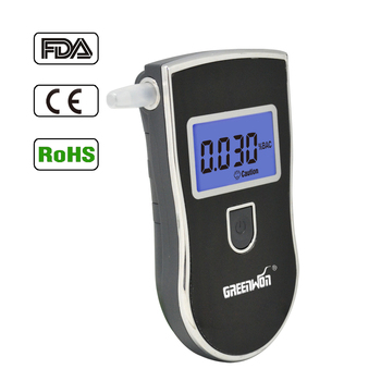 2017 GREENWON Breathalyzer AT818,Digital Breath Alcohol Tester with 5 Repalceable Mouthpieces