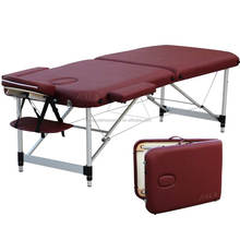NAUA full body thermal folding massage tables bed for salon