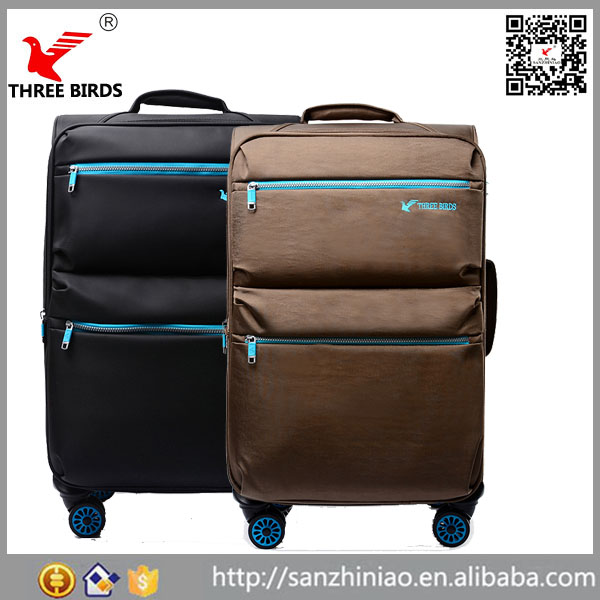"New products aluminum trolley air express suitcase 20""24"" lightweight fancy travel luggage"