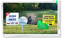 twinwall pp sheet real estate signs