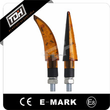 E-mark universal motorcycle parts front running led turn signals light blinkers