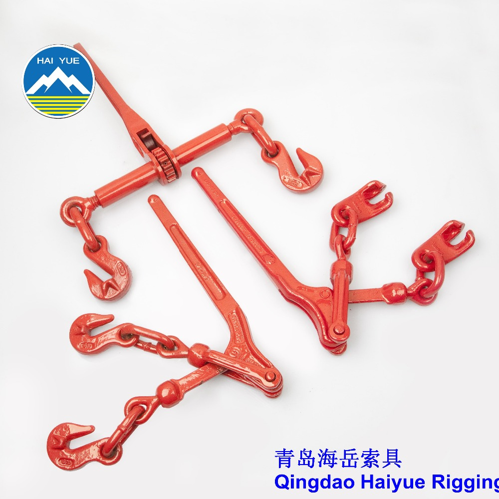 Forged red US type chain load binder