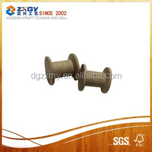 Natural Empty Small Wooden Cable Spools for Sale