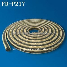 Electrical insulation Fire Retardant Online Sale Graphite PTFE With Aramid fiber in corners reinforced braided Packing