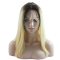 High Quality Hair Blonde Color Full Swiss Lace Wigs