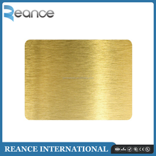 Top Quality Golden Brushed Aluminum Composite <strong>Panels</strong> Decorative Interior Wall