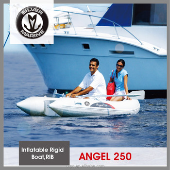 Silver Marine Small rib boat,Hypalon yacht tender (ANGEL 250) 2.5 meter
