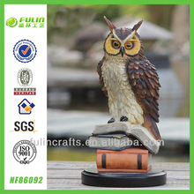 Standing Home Resin Owl Figures