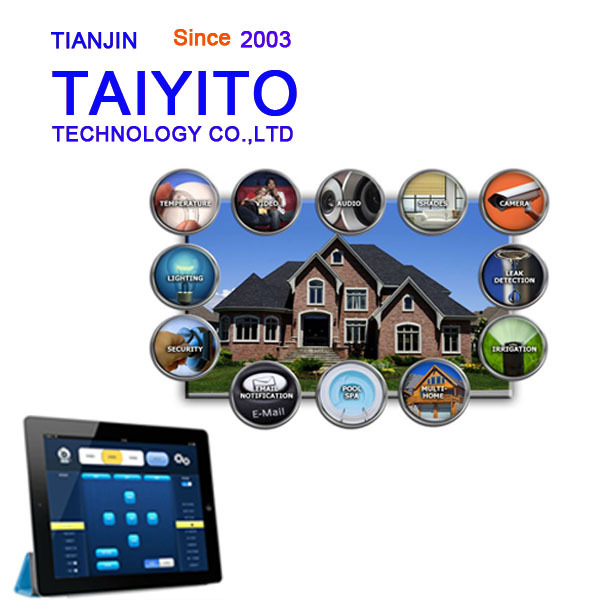 Taiyito electric curtain controller background music controller zigbee whole set smart home automation system