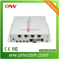 x video China optical transmitter and receiver for ip cameras