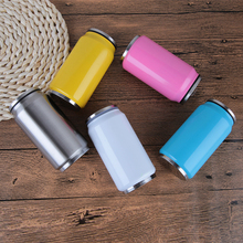 Ring-pull can bottle sport outdoor traveling stainless steel vacuum flask,large capacity500ml and 350ml,can custom logo