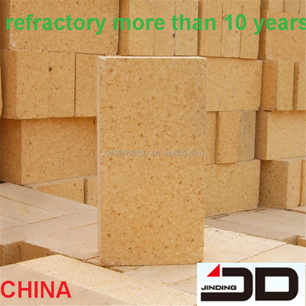 certificate high aluminum fire brick for cement steel plant china