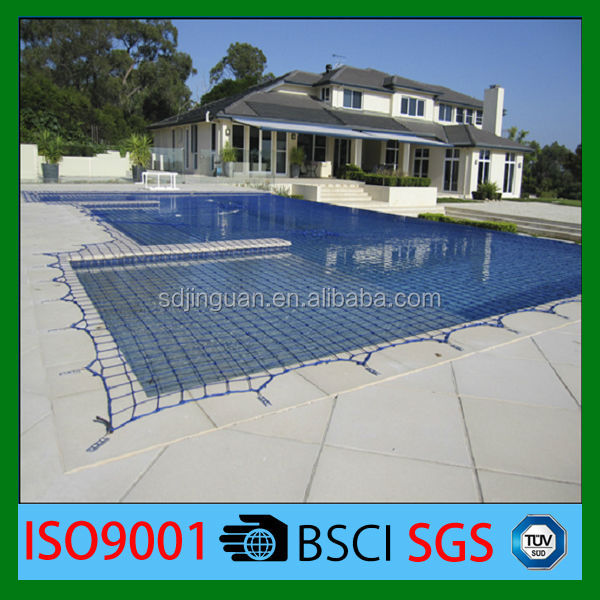 Made by 100% HDPE home swimming pool safety net