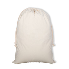 "New blank no printing bag 19.7""x27.5"" big bag large drawstring bag canvas blank navidad Santa sack"