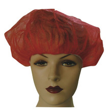 disposable colored hair nets blasting cap baggy green cap for sale