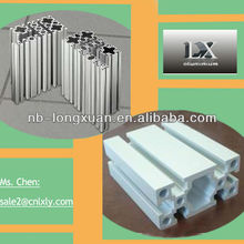 Bottom price custom chamfer edge industrial aluminium profile for architecture