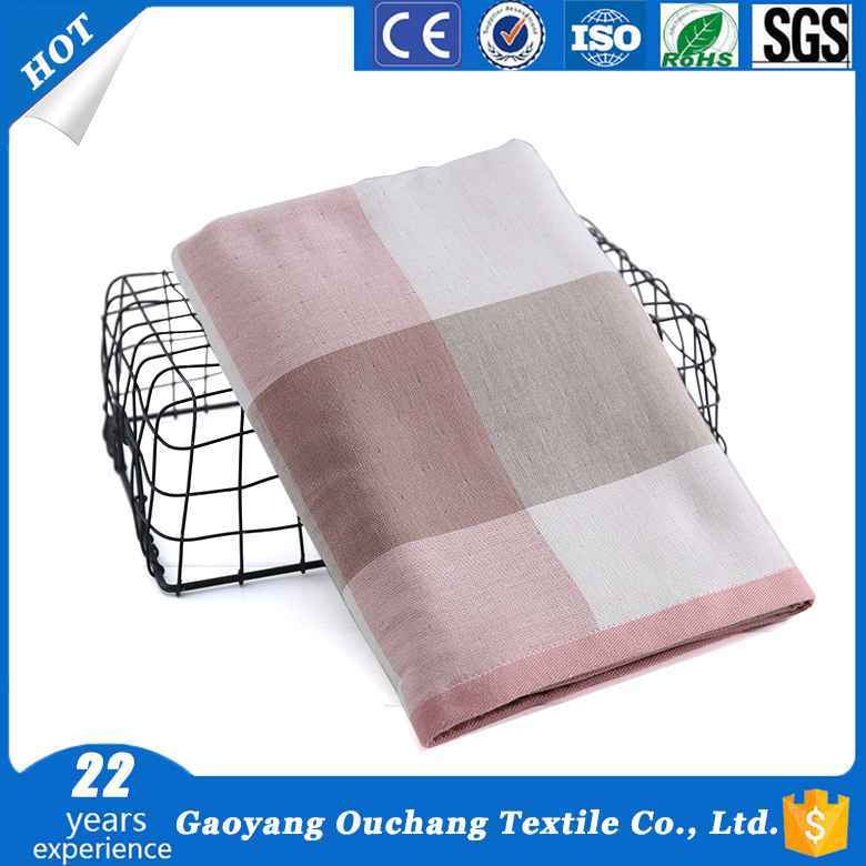 2017 Classic home textile plaid bathroom washcloth egyptian cotton bath towel