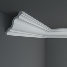 High quality polyurethane moulding HD-C00628 large Decorative cornice/crown
