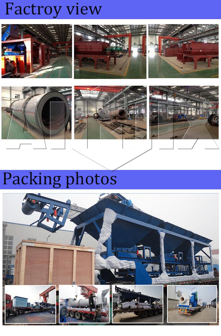 Famous brand 40t/h mobile bitumen production plant for sale