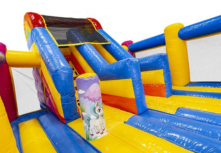 Unicorn inflatable bouncer/ inflatable castle/ inflatable bouncy castle for sale