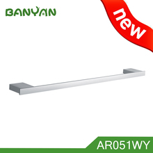 satin nickel swivel towel rack bar