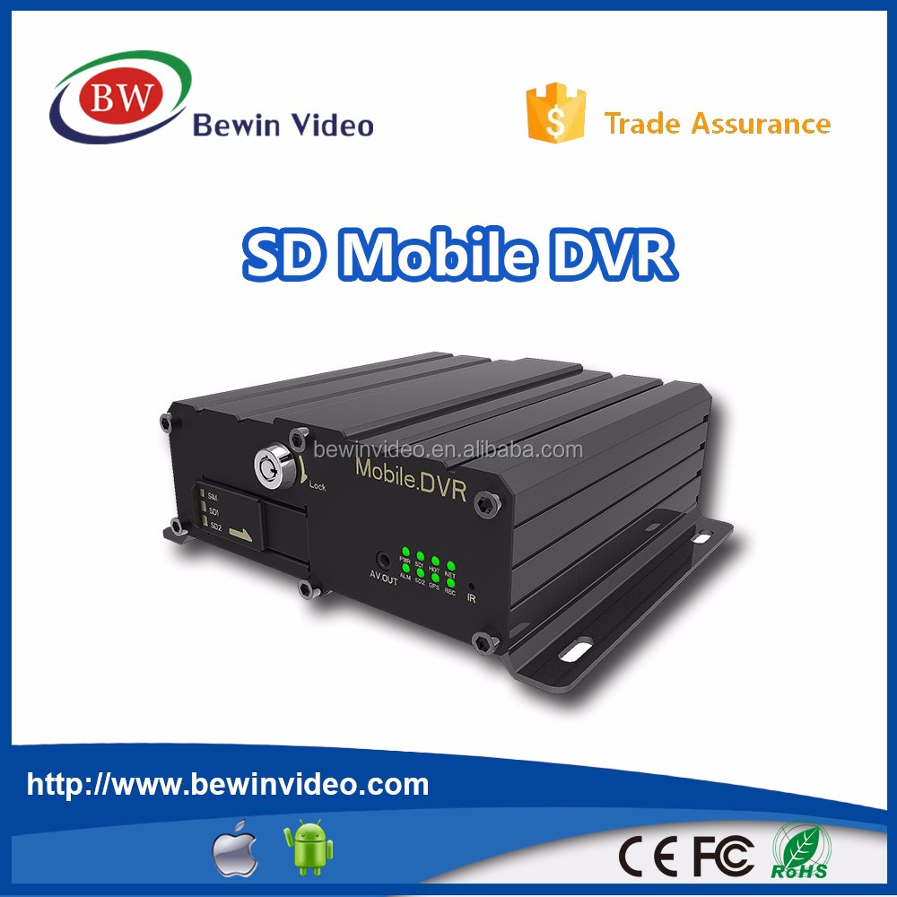 smart city cctv security mdvr with gps 4g 3g wifi 4ch mobile dvr for car coach and lorry truck