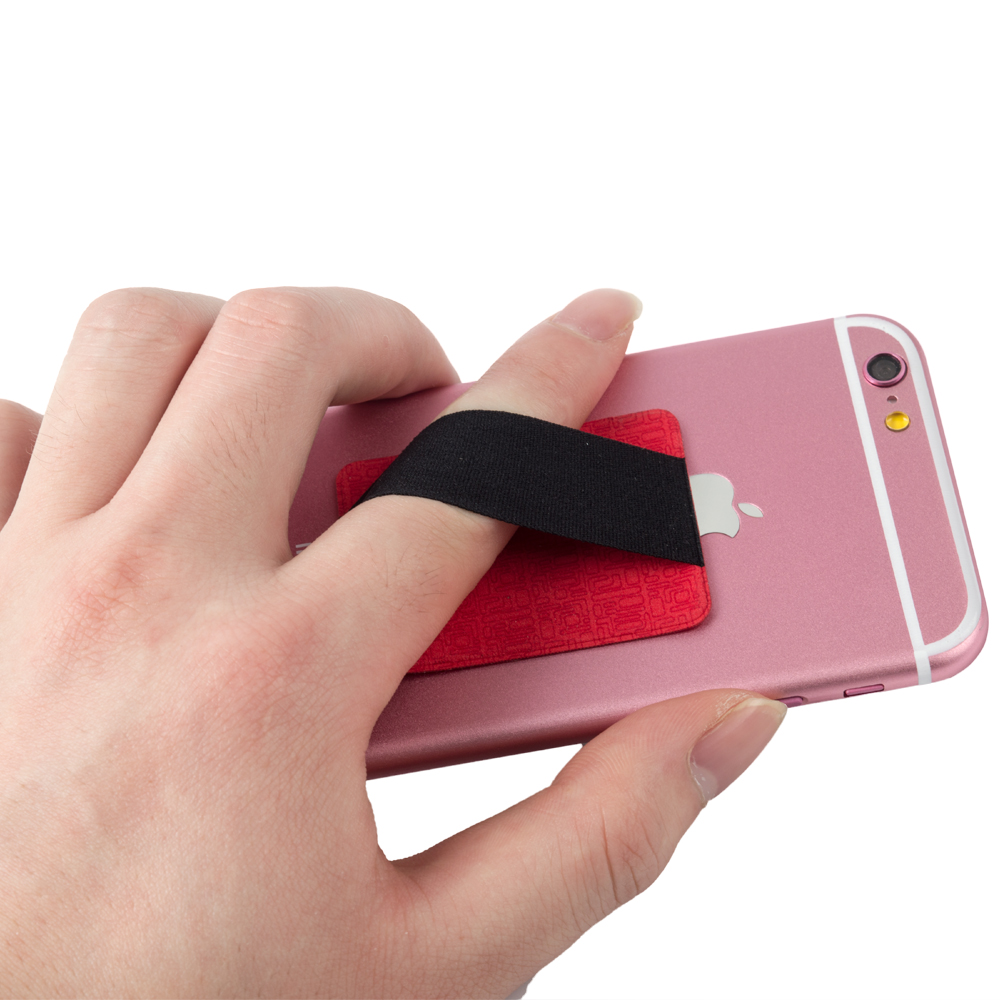 Cell Phone Handle finger Grip elastic belt phone Holder smart secure grip for mobile phone A114