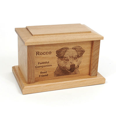 PERSONALIZED PET URN OR MEMORIAL