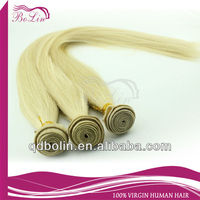 Hot selling in European noble gold hair weaving