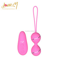 Wireless vibrating love eggs for girls masturbation