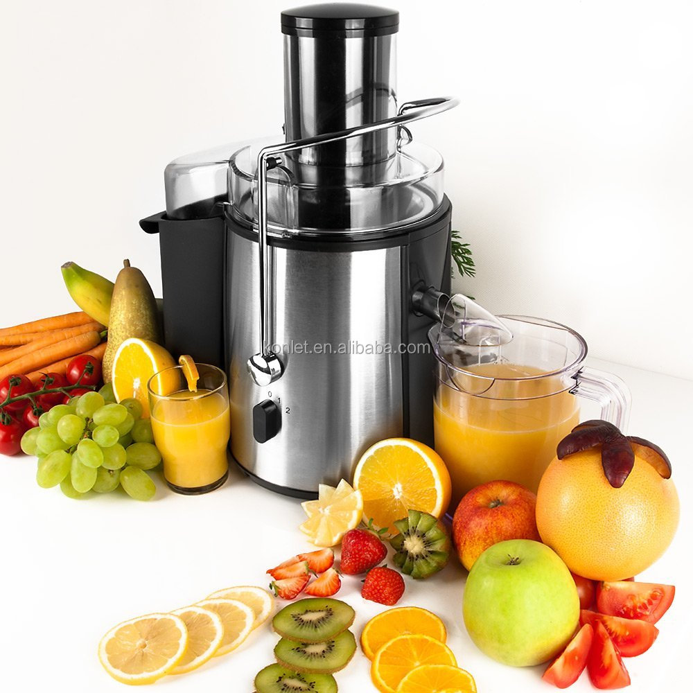 2016 hot selling 75mm whole apple Power juicer from Konlet Electric Co.Ltd