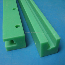 cnc uhmwpe upe plastic linear guide rail