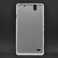 factory direct sale soft well ultra-thin tpu smartphone case for sony c4