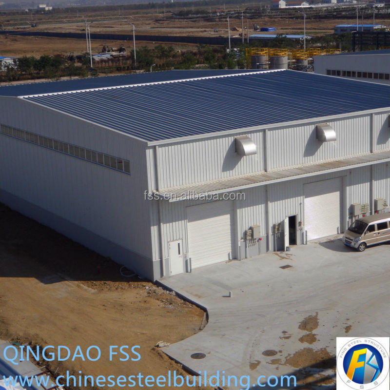 China prefabricated steel frame house
