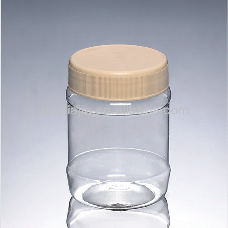 Wholesale Clear PET Plastic Honey Pot