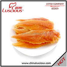 Dried Chicken Strip Adult Pet Food Factory