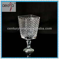 Modern expensive glass vases wholesale