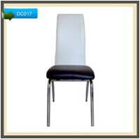 ergonomic dining room chair round dining table with leather chairs DC017
