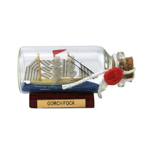 Gorch fock,Ship in bottle,Bottle ships,Drift bottles,Glass floats,Decoration,Nautical Handicrafts,Gifts,Souvenirs,Decor