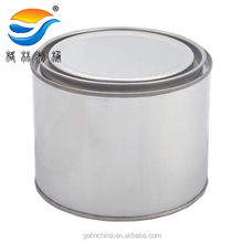 tin metal container for paint
