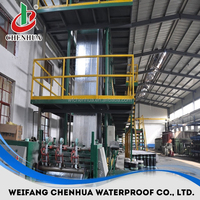 China small automatic modified bitumen roofing felt production line manufacturer