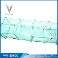 Foldable Umbrella Style Fishing Trap in the lake