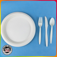 Eco Friendly and Compostable Corn Starch Dinnerware