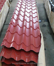 Color painted iron sheet steel corrugated metal roofing/color corrugated roof sheets