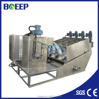 Saving operatione cost high capacity screw press for palm oil sludge